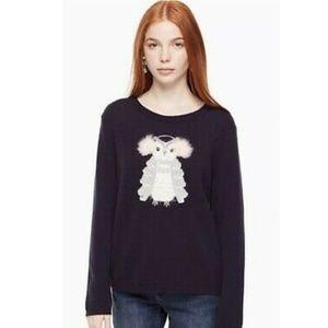 Kate Spade Fuzzy Owl Sweater